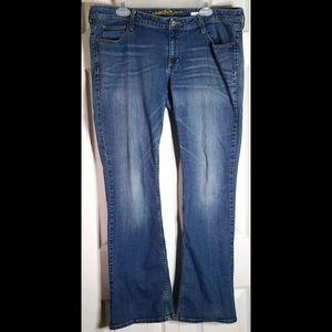 Arizona Bootcut Jeans sz 17 average